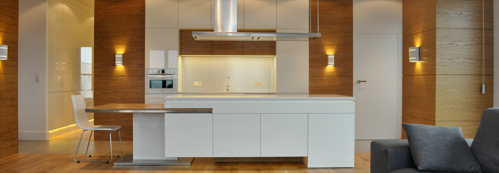 Meble kuchenne, nowoczesne kuchnie  DECOR MEBEL -> Kuchnie Nowoczesne Home